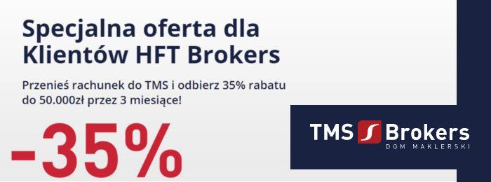 tms brokesr promocja dla klientów hft