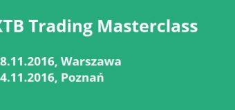 xtb masterclass warszawa poznań