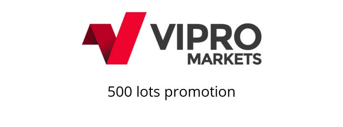 500 lots promotion vipro markets