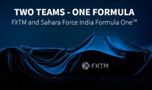 fxtm formula 1 sahara force india