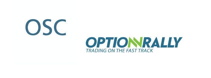 OptionRally ukarane przez OSC