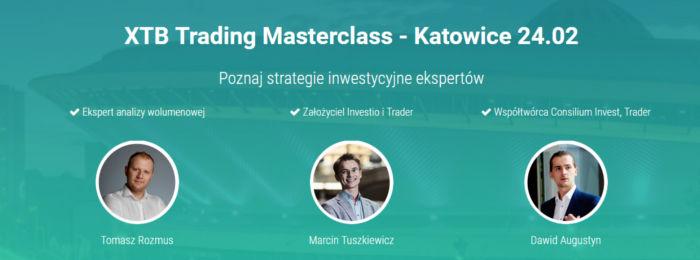 xtb trading masterclass katowice