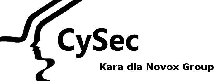 kara CySEC novox group