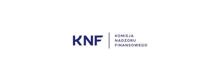 KNF – zmiana logo, KNF Alert, nowa strona
