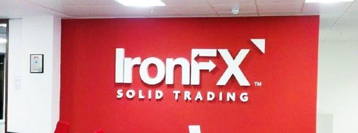 ironfx dostaje 100 mln