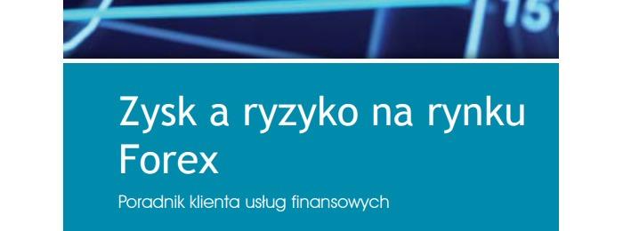 zysk a ryzyko poradnik forex KNF