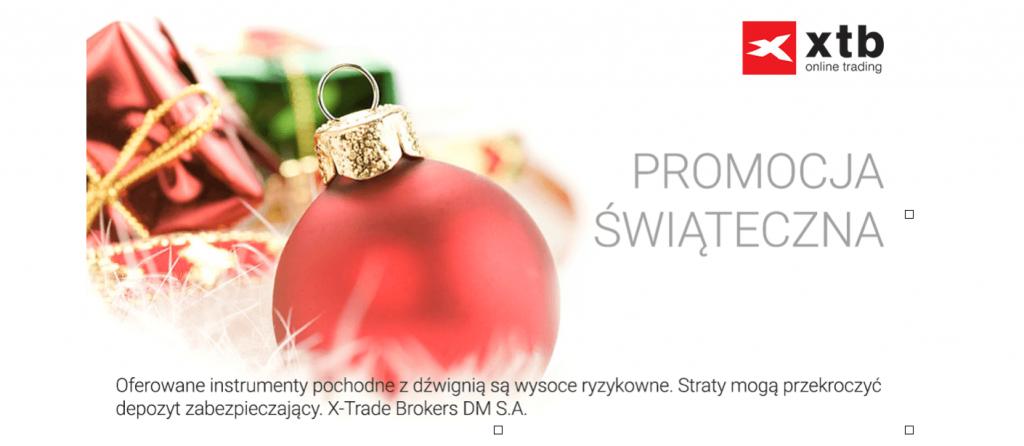 Świąteczna promocja w X-Trade Brokers