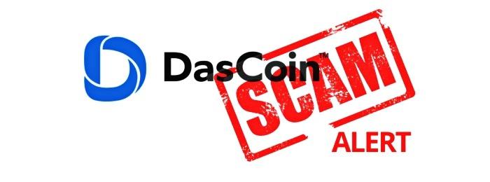 DasCoin oficjalnie uznany za oszustwo