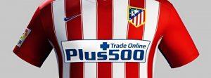 Atletico Madryt będzie musiało rozwiązać umowę z Plus500?
