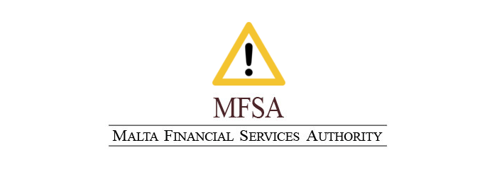 MFSA Malta ostrzeżenie