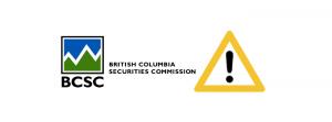 BCSC ostrzeżenie
