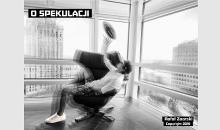 """Okładka książki Rafała Zaorskiego - """"O spekulacji"""""""