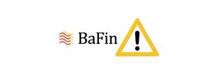 bafin ostrzeżenie