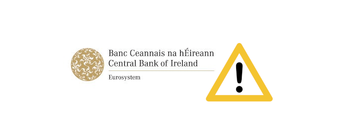 centralbankofireland - Centralny Bank Irlandii ostrzega przed klonem Virtu Financial