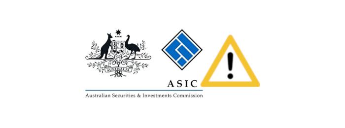 asicostrzeżenie - ASIC ostrzega przed 3 nieuczciwymi brokerami FX