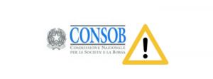 Włoski regulator rynku usług finansowych - CONSOB, ostrzega przed nieautoryzowanymi firmami