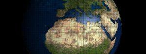 mapa świata - globus