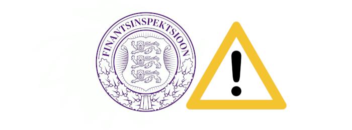 estoński regulator FSA ostrzega przed scamem