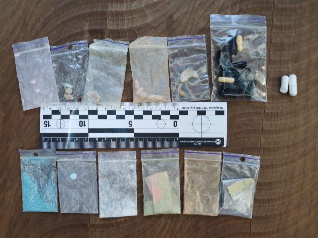 narkotyki znalezione w nieuczciwym call center - źródło cyberpolicja ukraina