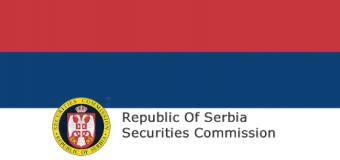 serbski nadzorca finansowy odebrał licencję brokera