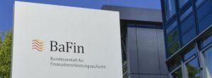 bafin niemiecki regulator