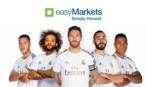 easymarkets podpisało 3 letnią umowę sponsorką z realem madryt