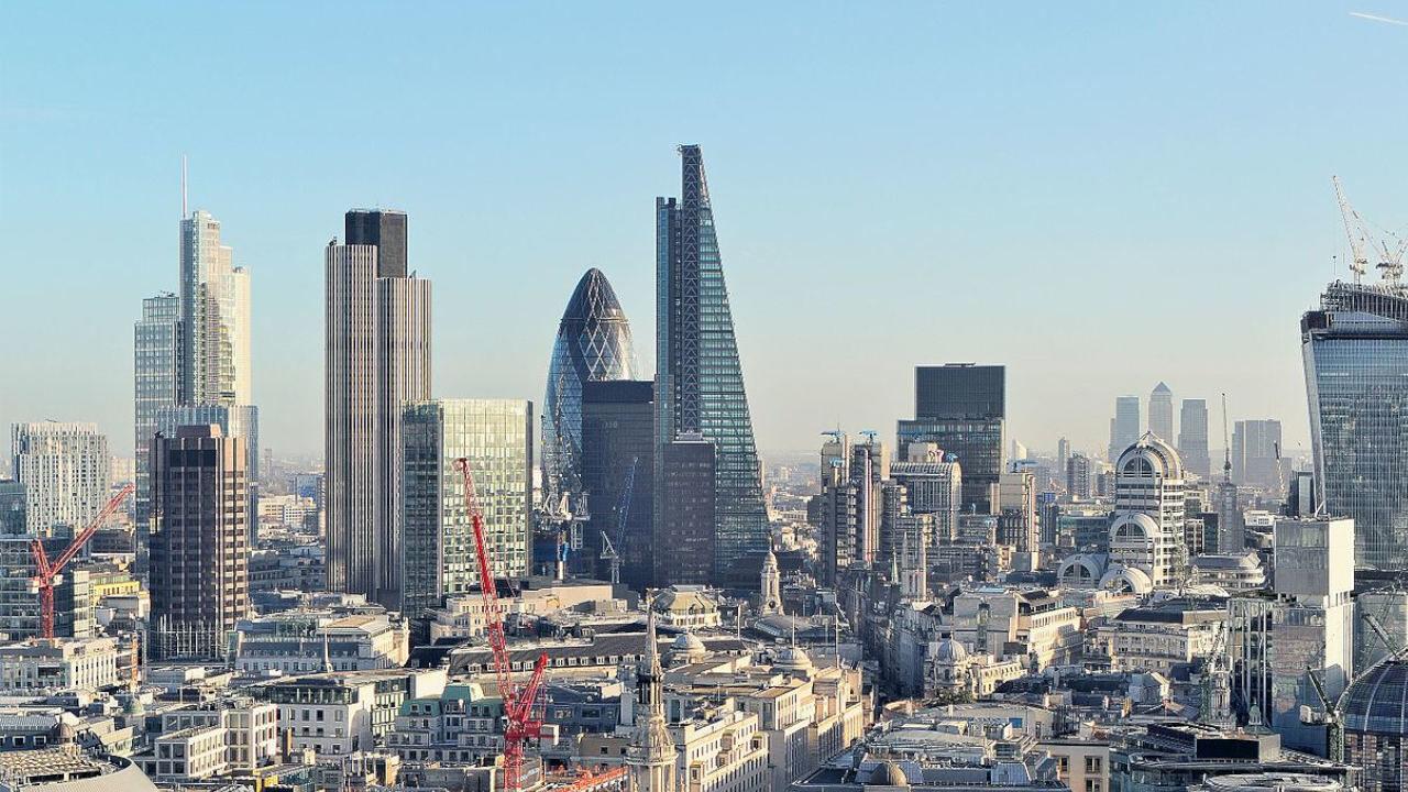 london city londynskie city uk 1 - Londyńska giełda liderem w pozyskiwaniu nowego kapitału