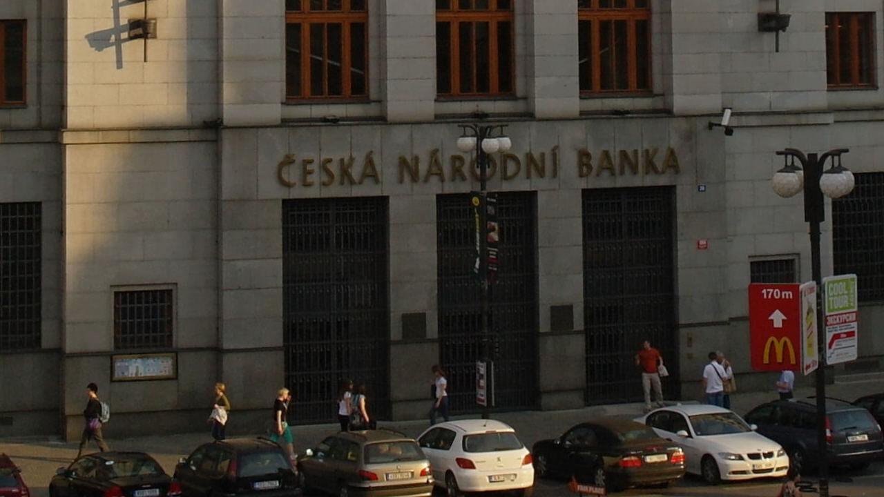 bank centralny czech podwyższył stopy procentowe