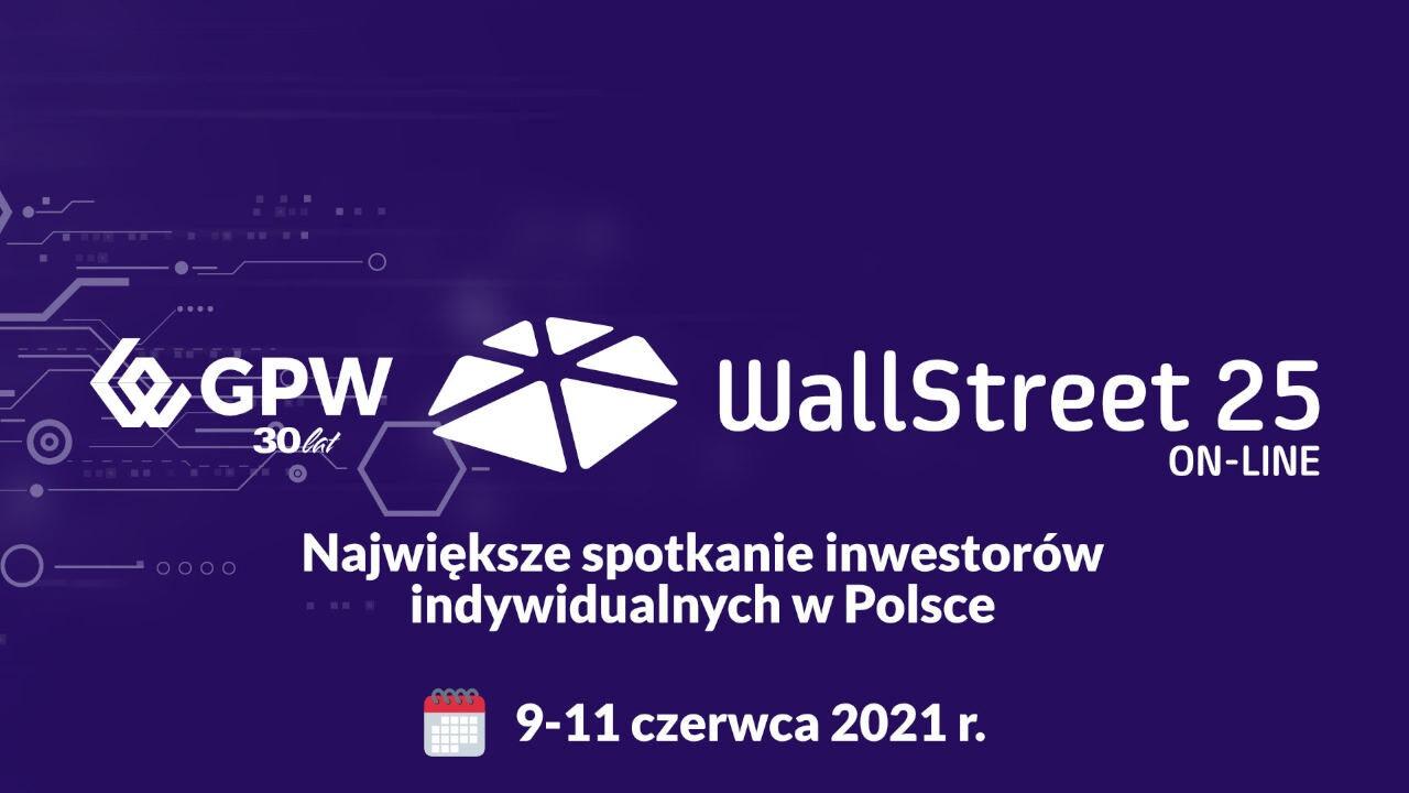 konferencja gpw wallstreet 25 już 9 czerwca o godzinie 9:30